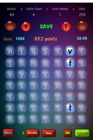 Screenshot WordSpurt