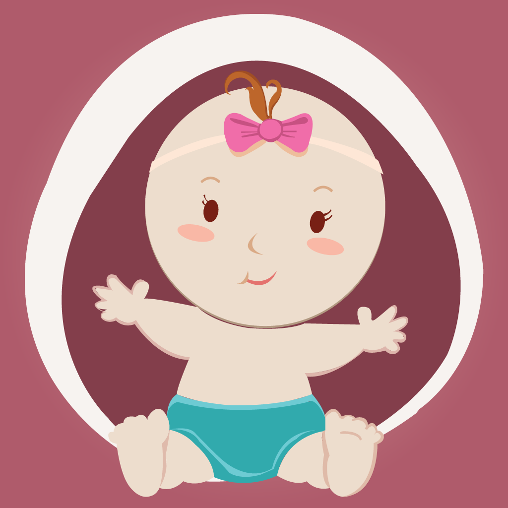 可爱的可爱天使临 - 最好的婴儿图片应用